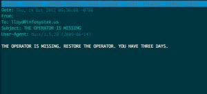 Restore the Operator